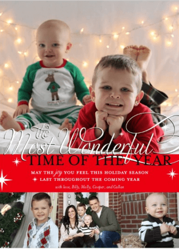 Our Christmas Cards: 2012