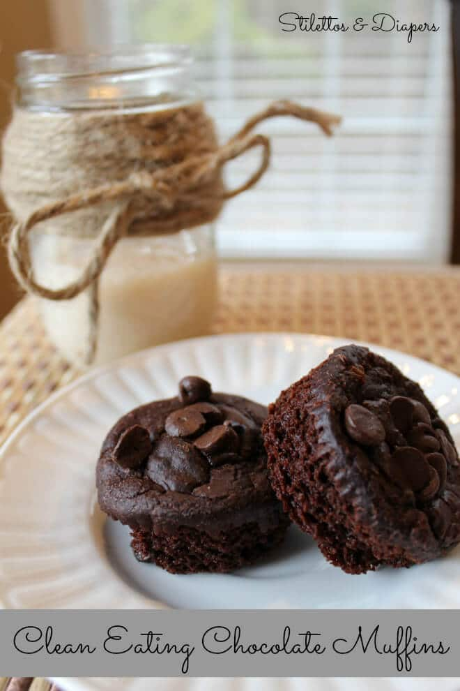 Clean chocolate muffins, low fat chocolate muffins, vitatop muffin recipe, gluten free chocolate muffins