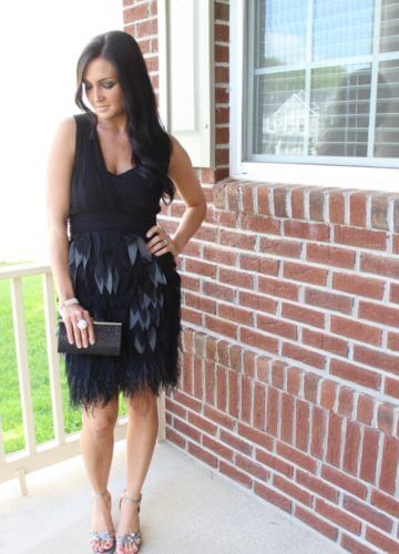 Glitz and Feathers {A Fashion Post}