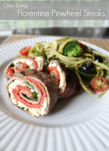 Clean Eating: Florentine Pinwheel Steaks