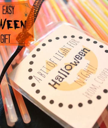 Halloween Class Gifts (They're easy and fast so make them!)