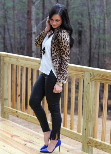Leopard + Royal {A Fashion Post}