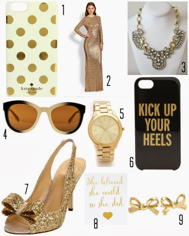 Gold trends, Gold Glitter, Gold Phone Case, Gold sunglasses