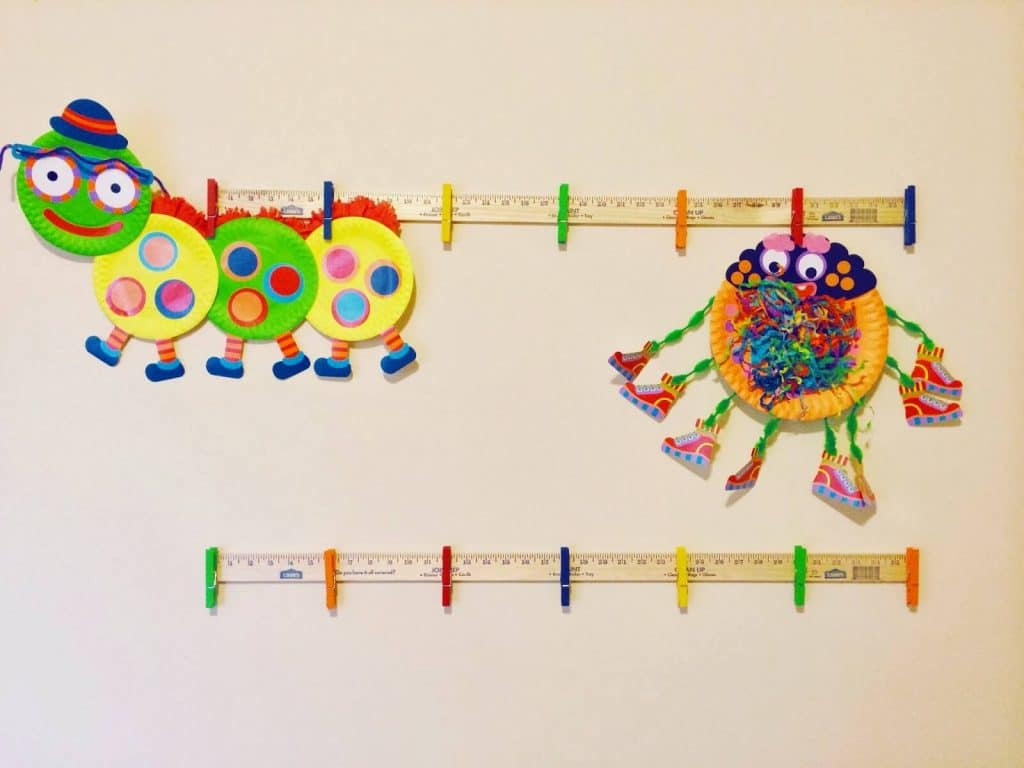 Simple Diy Kids Art Display Playroom
