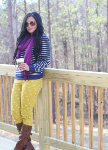 Put a Bow (and some stripes) On It. {Fashion}