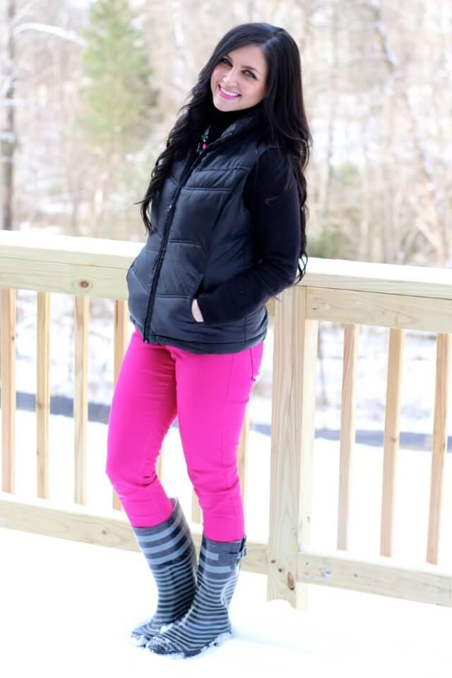 Hot Pink Skinnies