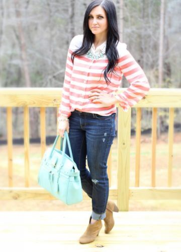 Coral, Mint and Spring! {Fashion}