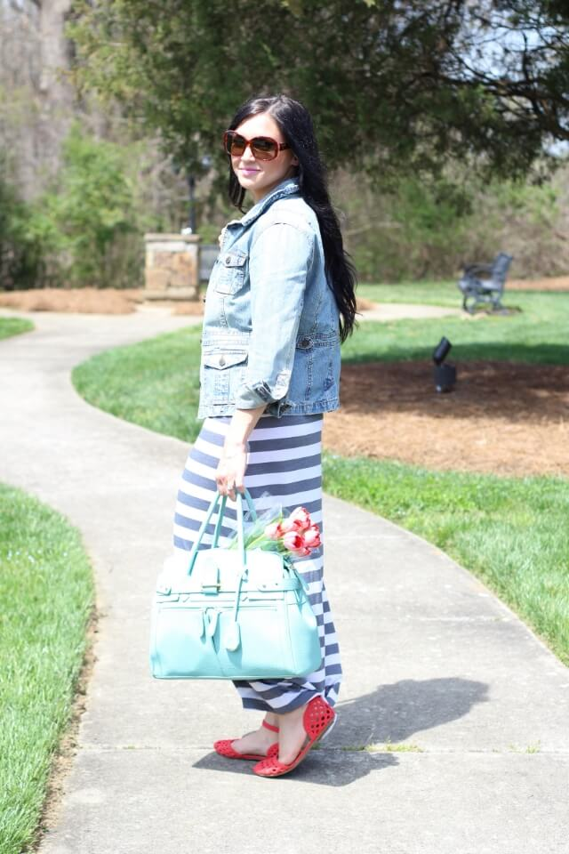 Spring Trends: Stripes and Cutouts