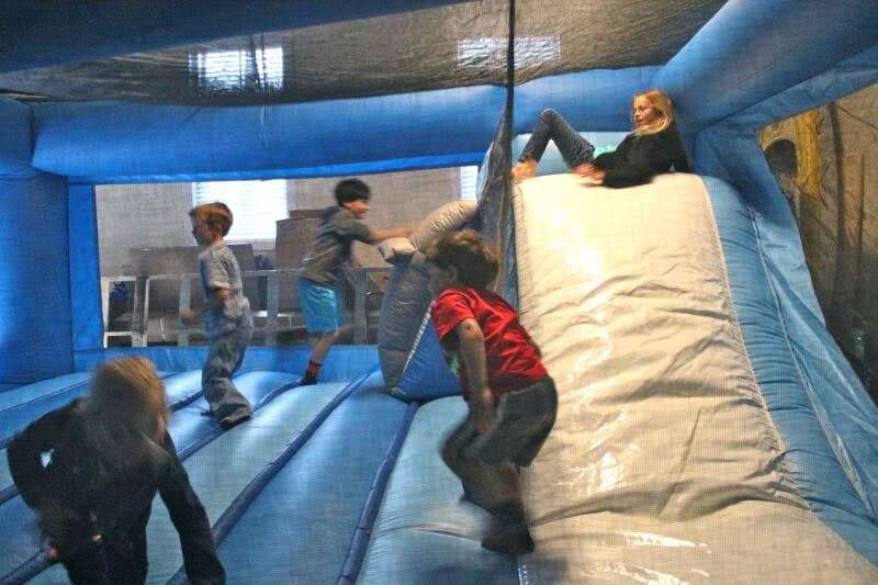 Astro Jump North Charlotte. Birthday Party bounce house.
