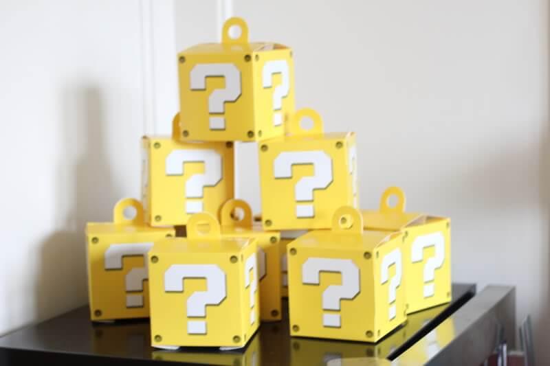 Stilettos and Diapers: Super Mario Favor Boxes