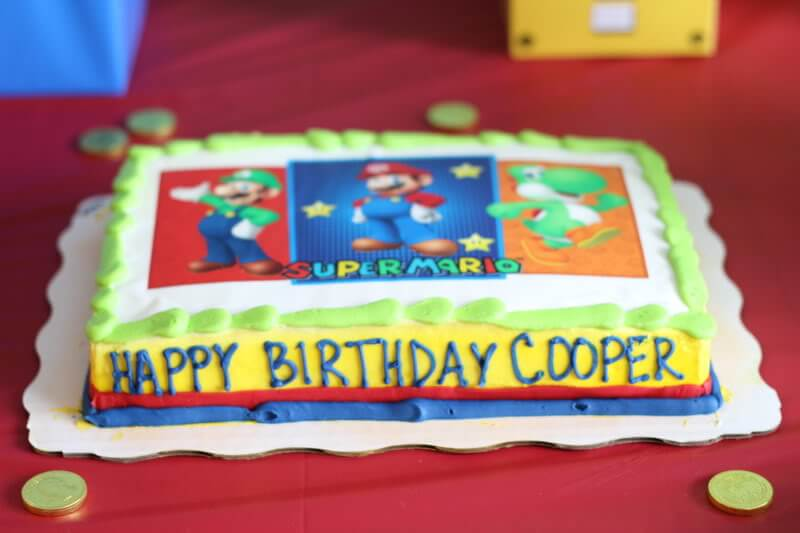 Stilettos and Diapers: Super Mario Birthday Party
