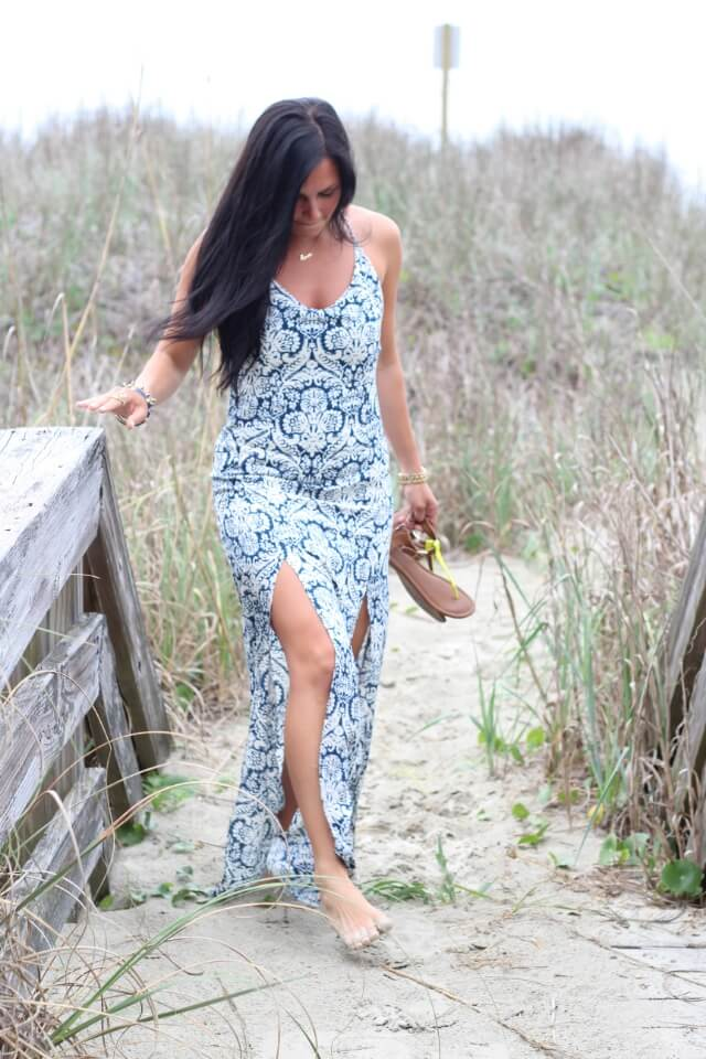 JustFab Maxi for the beach