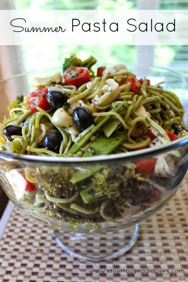 Stilettos and Diapers: Easy Summer Pasta Salad