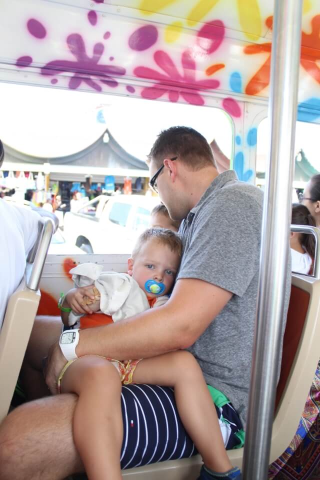 Carnival Breeze: Aruba via Stilettos and Diapers