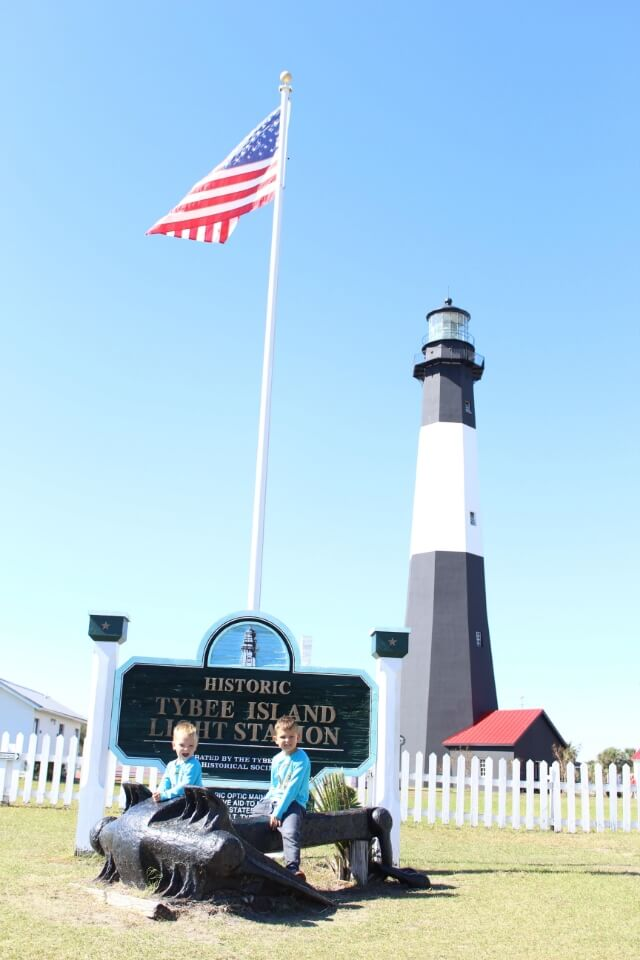 Tybee Island Lighthouse, Stilettos and Diapers