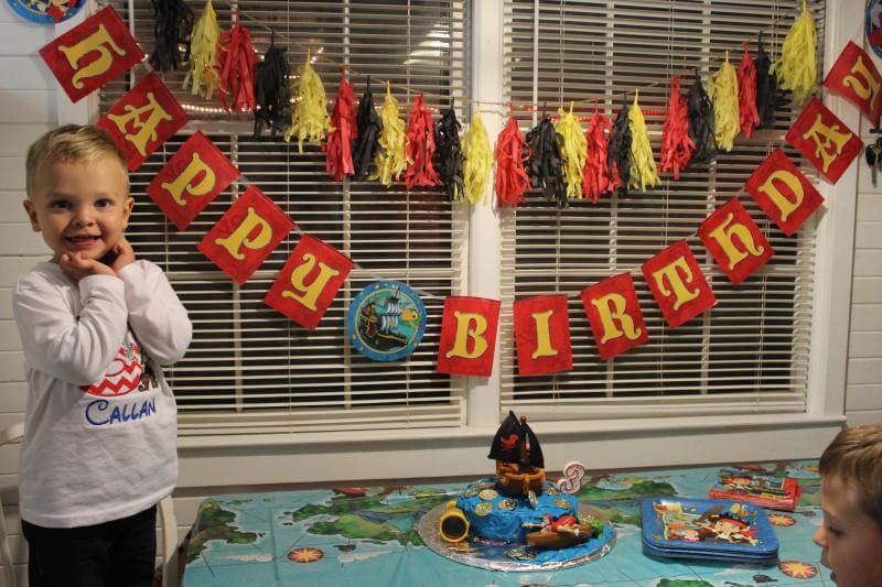Stilettos and Diapers, Jake and the Neverland Pirates Party
