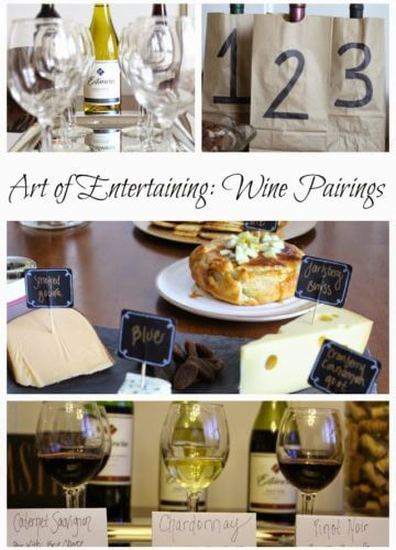 Art of Entertaining: Wine Pairings and Cheese Boards