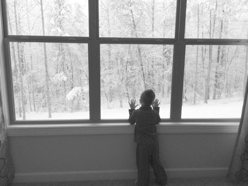Charlotte, NC snow days via Stilettos and Diapers