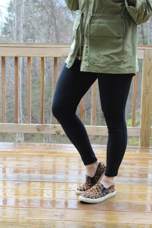 Stilettos and Diapers: J. Jill Anorak, 16 weeks pregnant