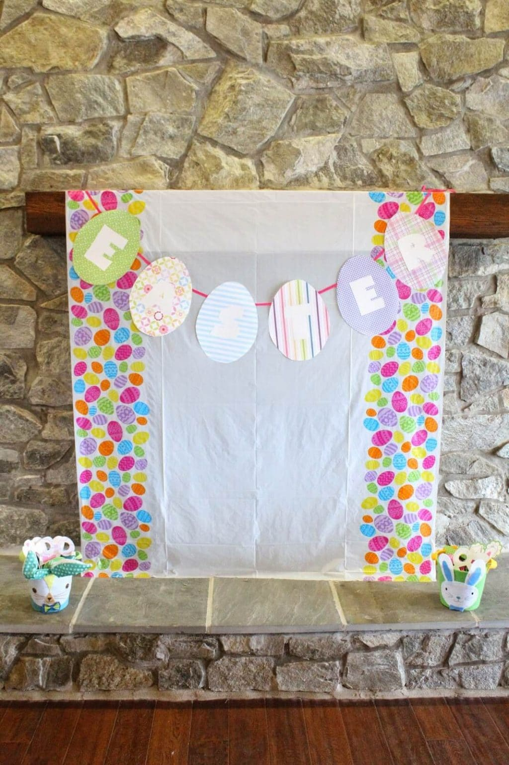Easter Egg Hunt Photo Booth