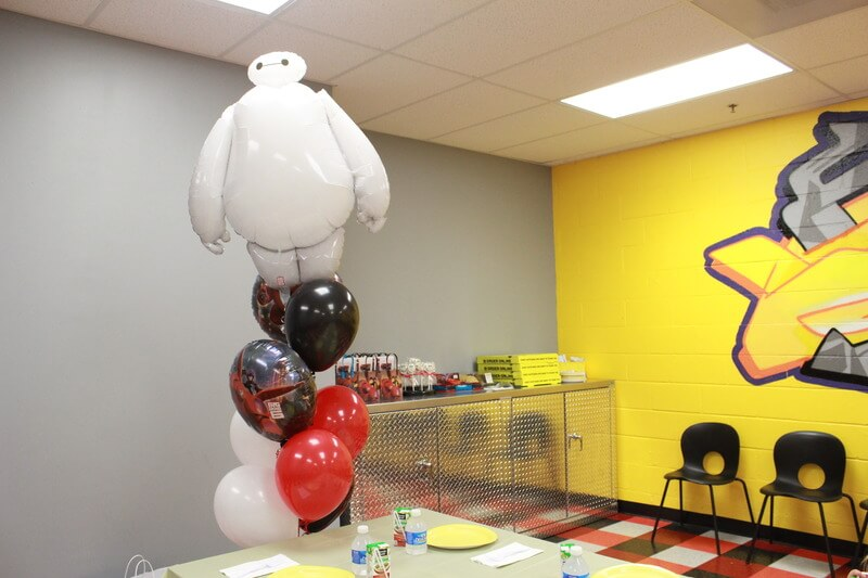Big Hero 6 Birthday Party via Stilettos and Diapers