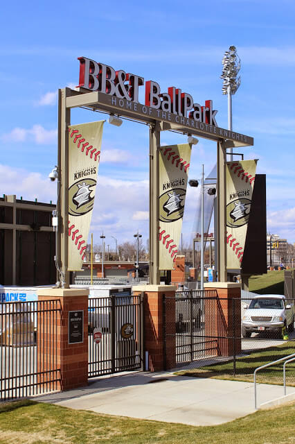 What to do in Charlotte: BB&T Ballpark Charlotte Knights