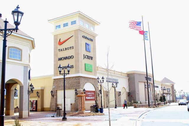 Where to shop in Charlotte: Charlotte Premium Outlets