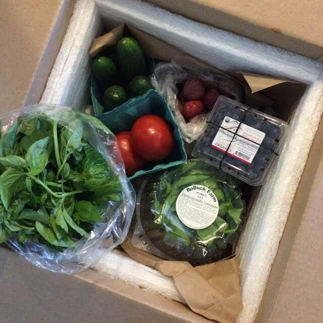 Organic Vegetable Delivery