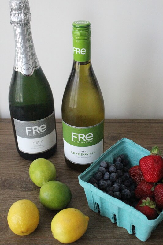 Summer Sangria with Fre Wine