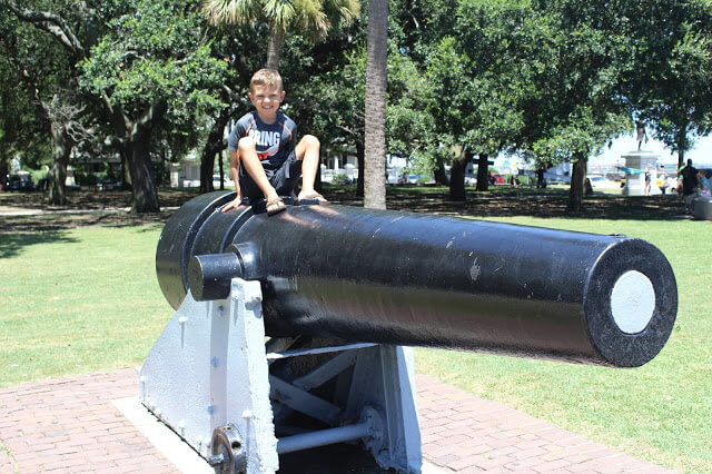 Charleston Civil War Cannons