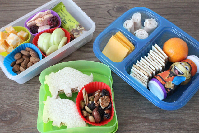School Lunch Ideas: DIY Lunchable