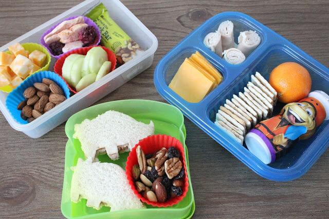 School Lunch Ideas: DIY Lunchable