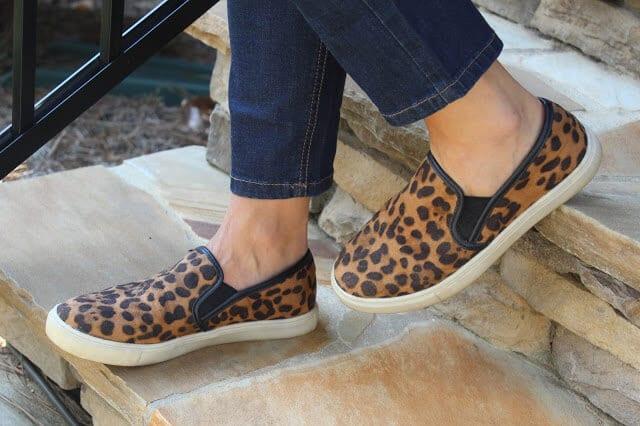 Leopard flats, Leopard sneakers