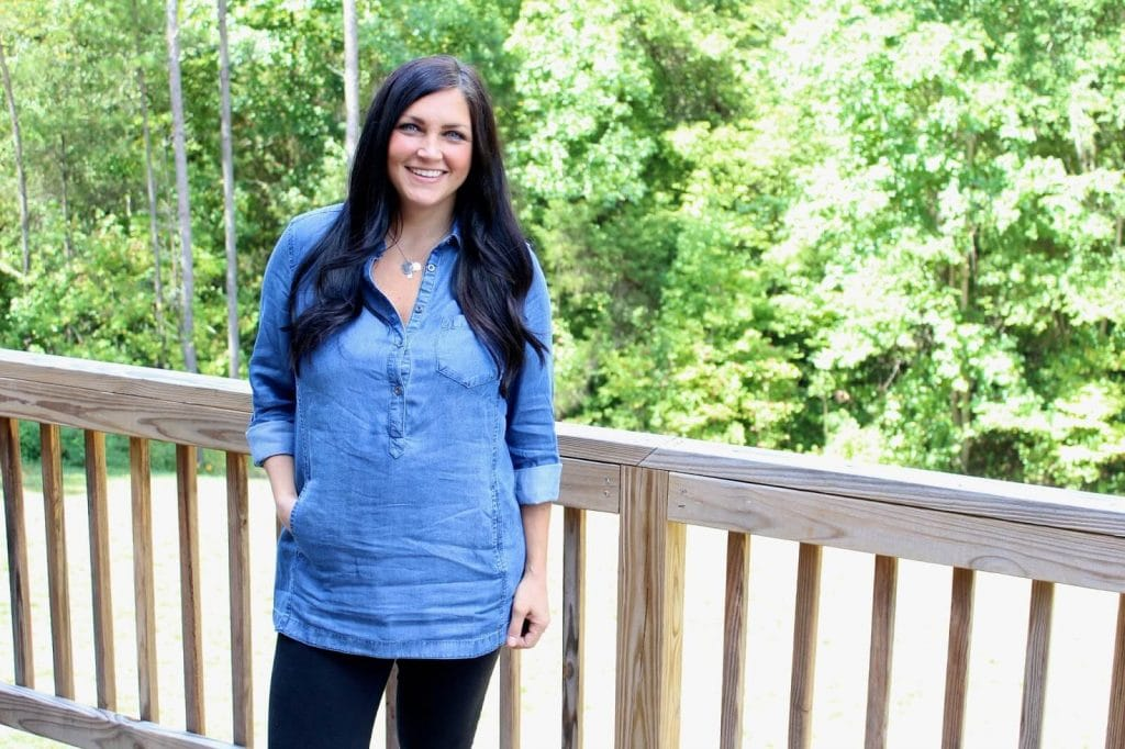 Postpartum Style: Molly at Stilettos and Diapers