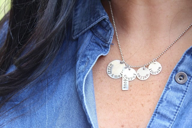 Julie The Fish Name Necklace
