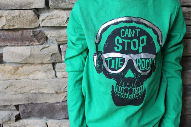 Can't Stop The Rock Tee