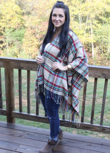 Fashion || Plaid and Booties