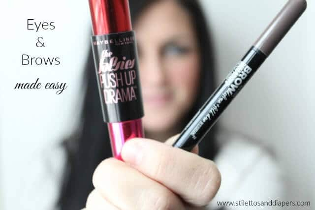 Volumizing mascara and natural brow filler, Maybelline
