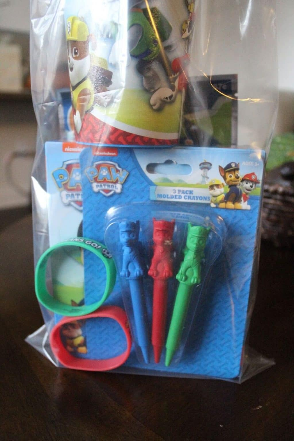 Paw Patrol Birthday Party goodie bags