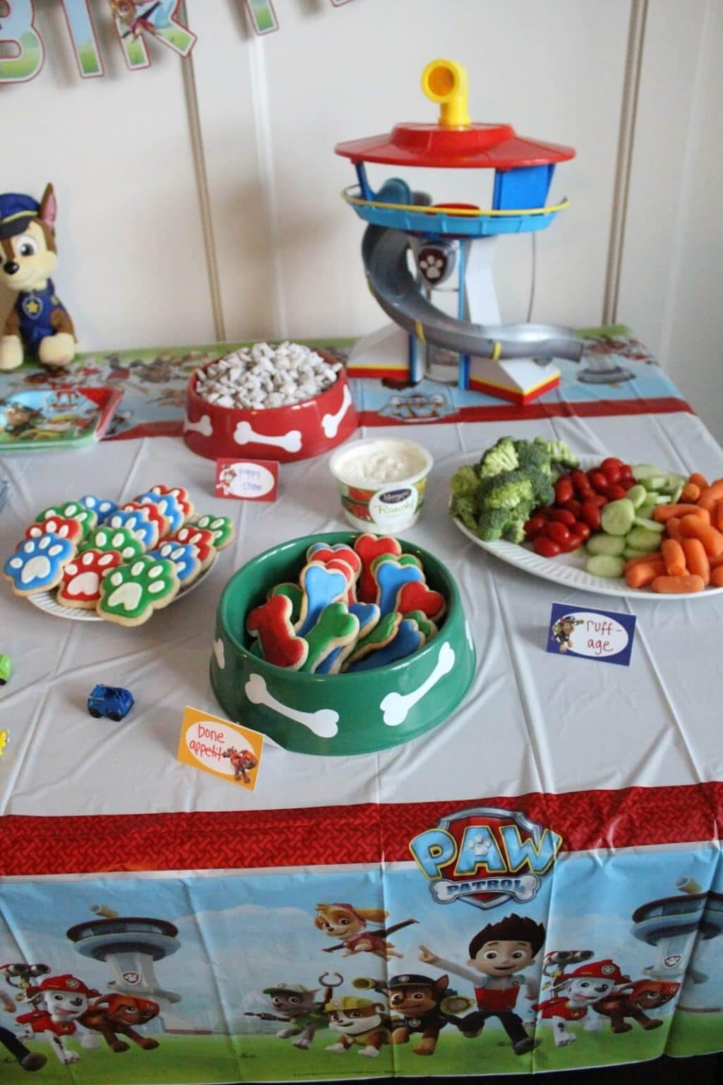 Paw Patrol Birthday Party Food Ideas