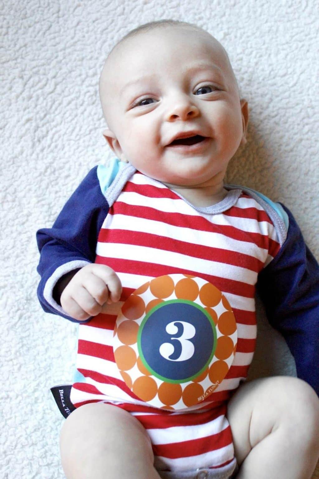 c09677b65 Baby Update  3 Months Old - Stilettos   Diapers