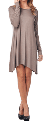 mocha piko dress, molly suzanne