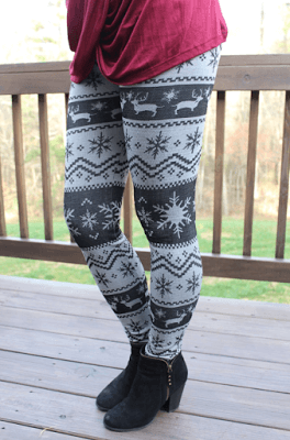 reindeer leggings, molly suzanne