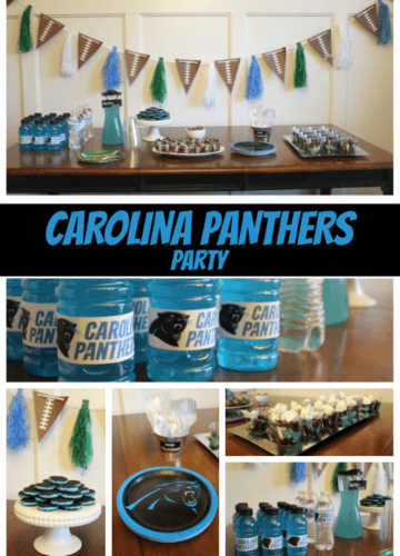 Panthers Party for Super Bowl!