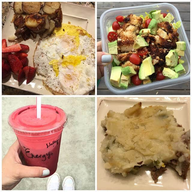 Whole30, daily meal plan and pictures