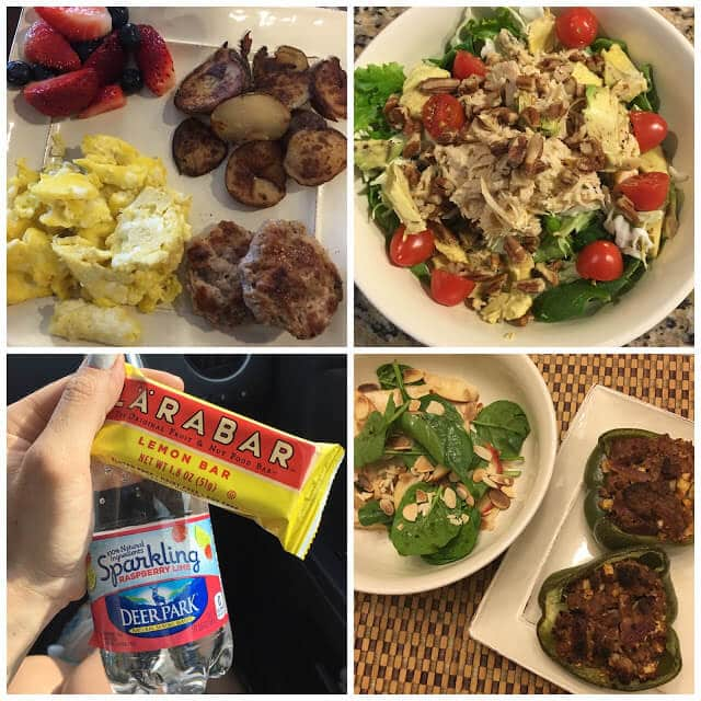 Whole30 menu with pictures