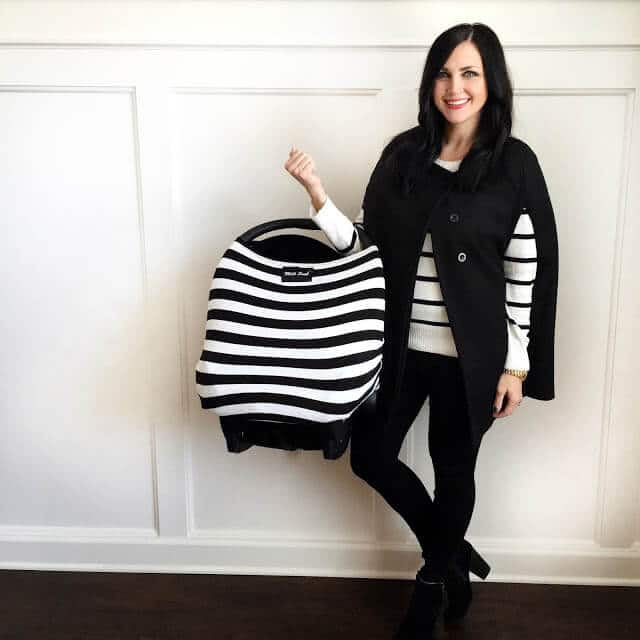 Cape, stripe sweater, Milksnob cover