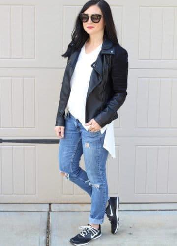 Fashion || Leather Casual
