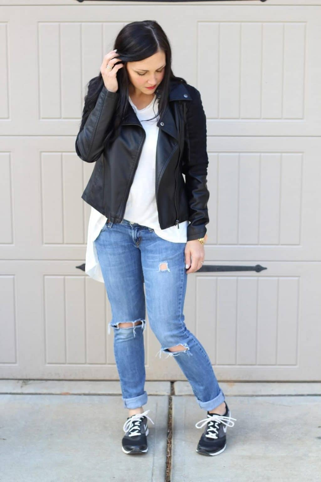 How to wear leather casually