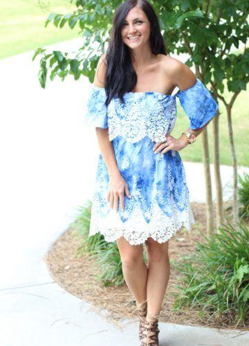 Fashion || Crochet and Blues